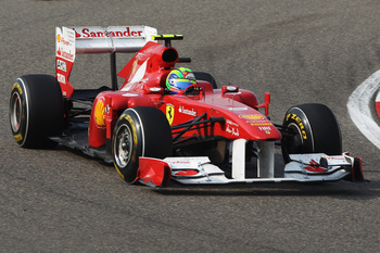 SHANGHAI, CHINA - APRIL 17:  Felipe Massa of Brazil and Ferrari drives during the Chinese Formula One Grand Prix at the Shanghai International Circuit on April 17, 2011 in Shanghai, China.  (Photo by Mark Thompson/Getty Images)