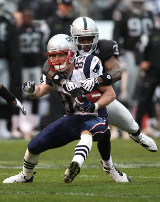 CJ tackles the ever elusive Wes Welker