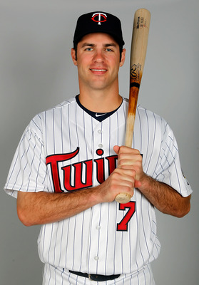 FORT MYERS, FL - FEBRUARY 25:  Catcher Joe Mauer #7 of the Minnesota Twins poses for a photo during photo day at Hammond Stadium on February 25, 2011 in Fort Myers, Florida.  (Photo by J. Meric/Getty Images)