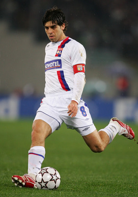Juninho Pernambucano and his awesome free-kicks played a key role in Lyon's seven consecutive French championships