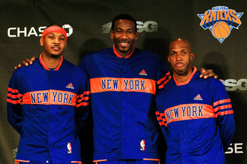 The new faces of the Knicks