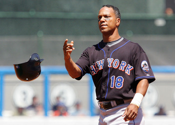 Moises Alou was 40 years old when the Mets signed him in 2008.