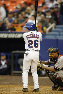 Marco Scutaro played 75 games with the New York Mets.