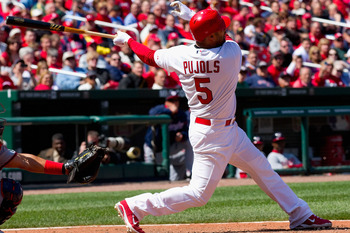 This year's consensus number one fantasy pick, Albert Pujols