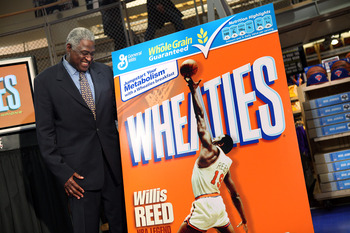 NEW YORK - FEBRUARY 04:  NBA legend Willis Reed attends the unveiling of the special-edition Wheaties box at the NBA Store on February 4, 2009 in New York City.  (Photo by Scott Gries/Getty Images)