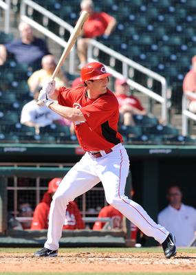 Cincinnati Red's Drew Stubbs