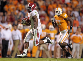The Pensacola product that got away from the Gators - tailback Trent Richardson.