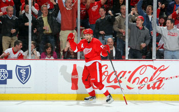Pavel Datsyuk and his puck magician skills were on full display against the Coyotes.