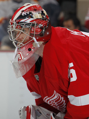 Jimmy Howard seems to be finding his playoff bearings.