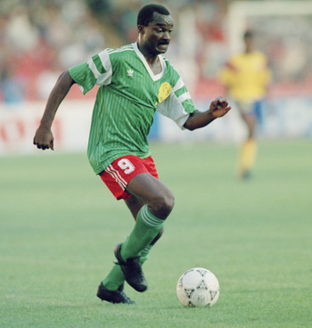 Roger Milla, hero of Cameroon and Africa