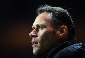 BIRMINGHAM, UNITED KINGDOM - OCTOBER 23:  Marco Van Basten of Ajax looks on during the UEFA Cup Group E match between Aston Villa and Ajax at Villa Park on October 23, 2008 in Birmingham, England.  (Photo by Laurence Griffiths/Getty Images)