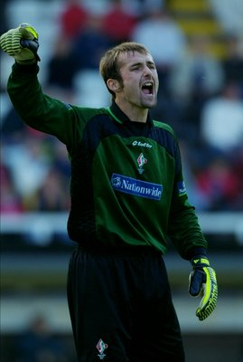 Jimmy Glass the goalscoring goalkeeper