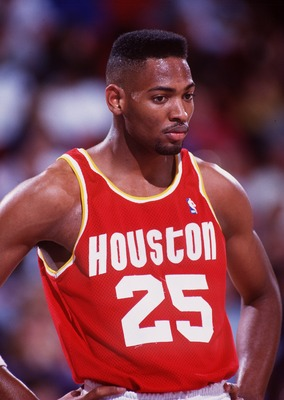 HOUSTON ROCKETS FORWARD ROBERT HORRY DURING REGULAR SEASON GAME VERSUS THE DENVER NUGGETS.