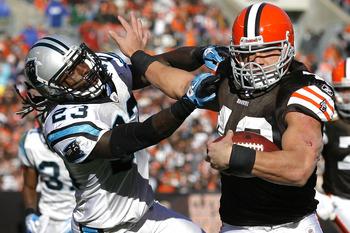 Cleveland Browns RB Peyton Hillis