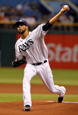 ST PETERSBURG, FL - APRIL 18:  :  Pitcher David Price #14 of the Tampa Bay Rays pitches against the Chicago White Sox during the game at Tropicana Field on April 18, 2011 in St. Petersburg, Florida.  (Photo by J. Meric/Getty Images)