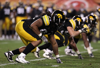 Clayborn is a versatile d-lineman out of Iowa