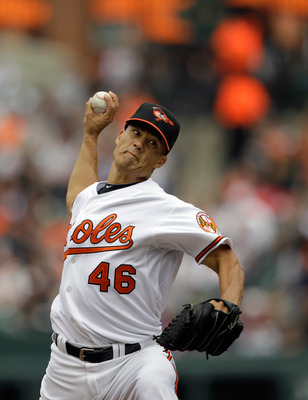 Jeremy Guthrie was originally drafted by the Cleveland Indians.