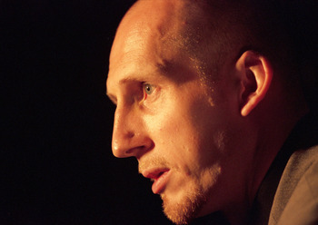 26 Apr 2000:  Portrait of Jaap Stam at the Puma Cellerator Respira press launch in Brussels, Belgium. \ Mandatory Credit: Graham Chadwick /Allsport