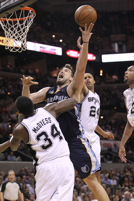 The other Gasol is quietly becoming a force at center