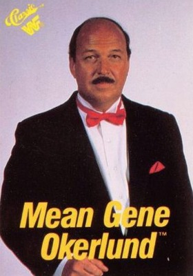 WWE Hall of Fame member Gene Okerlund