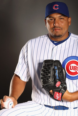 CARLOS ZAMBRANO, Starting Pitcher, Chicago Cubs