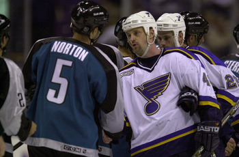 The St. Louis Blues dream season in 2000 came to an abrupt end in Round One.
