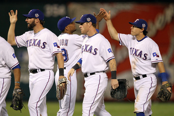 The Texas Rangers may have fallen short of the AL penant in 2010 had they needed to wait longer to start the playoffs