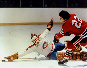 Ken Dryden was the main reason the Montreal Canadiens upset the 1971 powerhouse Boston Bruins.