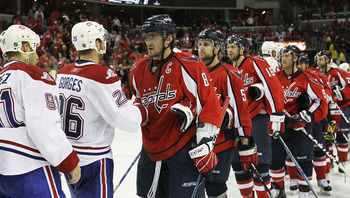 As one of the rising, young teams in the NHL, the Washington Capitals learned a modest lesson in the 2010 Stanley Cup Playoffs