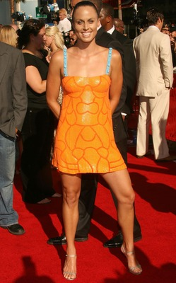 HOLLYWOOD - JULY 11:  Swimmer Amanda Beard arrives at the 2007 ESPY Awards at the Kodak Theatre on July 11, 2007 in Hollywood, California.  (Photo by Frederick M. Brown/Getty Images)