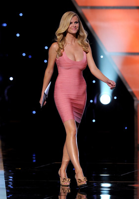 LOS ANGELES, CA - JULY 14:  Model Brooklyn Decker walks onstage during the 2010 ESPY Awards at Nokia Theatre L.A. Live on July 14, 2010 in Los Angeles, California.  (Photo by Kevin Winter/Getty Images)