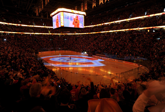 an recount of the atmosphere of nhl playoffs A lengthy playoff run by the winnipeg jets — accompanied by images broadcast around the world of winnipeggers going crazy rooting for the nhl team at whiteout street parties — scored a big.