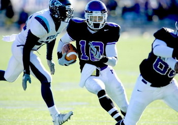 Cecil Shorts, WR, Mt Union Purple Raiders
