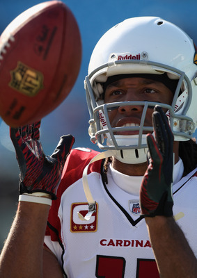 All-Pro wideout Larry Fitzgerald has to be curious as to who is going to be throwing him the football this year after miserable passing year in 2010.