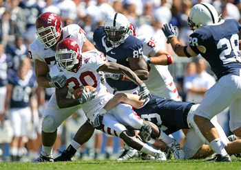 Temple running back Bernard Pierce will lead the Owls at home against Penn State.