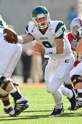 Eastern Michigan quarterback Alex Gillett.