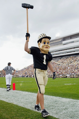 Purdue Pete will patrol the sidelines of Beaver Stadium this fall.