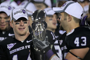 Andy Dalton took TCU into the national title conversation for multiple seasons