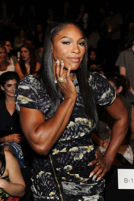 NEW YORK - SEPTEMBER 11:  Tennis player Serena Williams attends the Vivienne Tam Spring 2011 fashion show during Mercedes-Benz Fashion Week at The Theater at Lincoln Center on September 11, 2010 in New York City.  (Photo by Stephen Lovekin/Getty Images fo