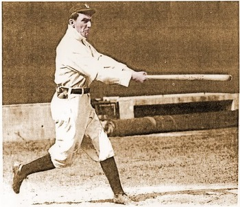 Nap Lajoie hit .427 in 1901 with the Philadelphia Athletics.