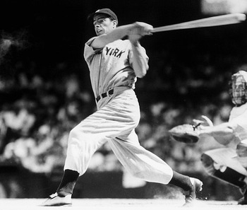 Joe DiMaggio's 56 game hitting streak remains perhaps the most revered record in baseball history.