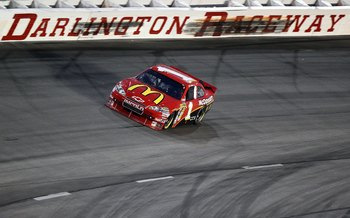 DARLINGTON, SC - MAY 08:  Jamie McMurray, driver of the #1 McDonald's Chevrolet, races during the NASCAR Sprint Cup series SHOWTIME Southern 500 at Darlington Raceway on May 8, 2010 in Darlington, South Carolina.  (Photo by Streeter Lecka/Getty Images)