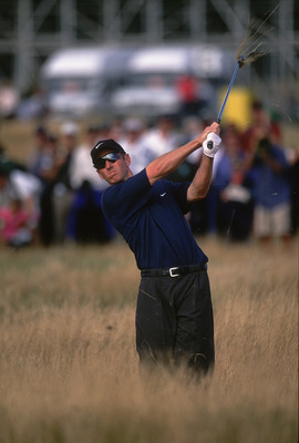 David Duval at the 2001 British Open