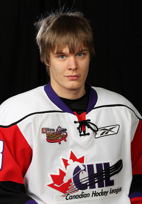 TORONTO, CAN - JANUARY 19:  Vladislav Namestnikov #18 of Team Orr poses for a Head Shot prior to skating in the 2011 Home Hardware Top Prospects game on January 19, 2011 at the Air Canada Centre in Toronto, Canada. (Photo by Claus Andersen/Getty Images)
