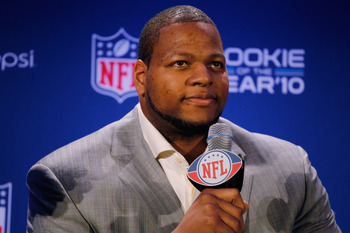 The Lions hit with last years draft, headlined by Suh.