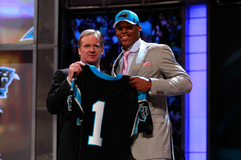 Cam Newton: Baby colors?