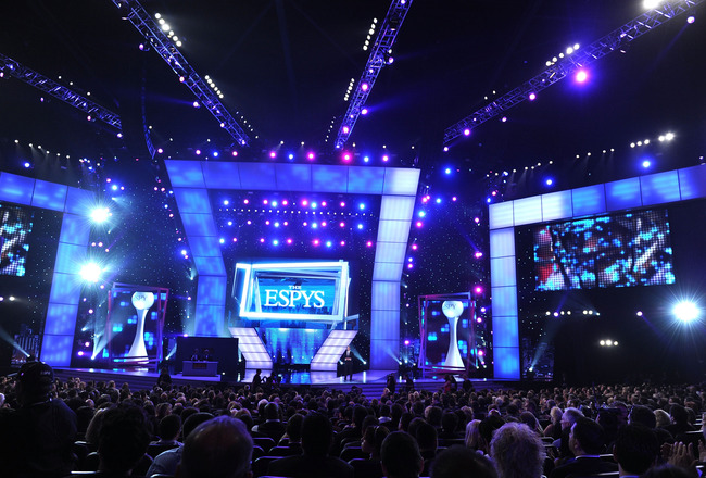 LOS ANGELES, CA - JULY 14:  General view of the atmosphere onstage during the 2010 ESPY Awards at Nokia Theatre L.A. Live on July 14, 2010 in Los Angeles, California.  (Photo by Kevin Winter/Getty Images)
