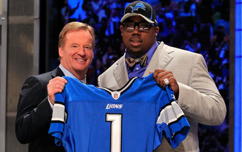 Nick Fairley Round One Draft Pick