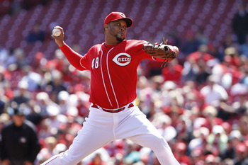 CINCINNATI, OH - APRIL 21: Francisco Cordero #48 of the Cincinnati Reds pitches the ninth inning against the Arizona Diamondbacks at Great American Ball Park on April 21, 2011 in Cincinnati, Ohio. The Reds defeated the Diamondbacks 7-4. (Photo by Joe Robb