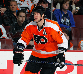 The Flyers hope they get a solid contribution from a healthy Chris Pronger